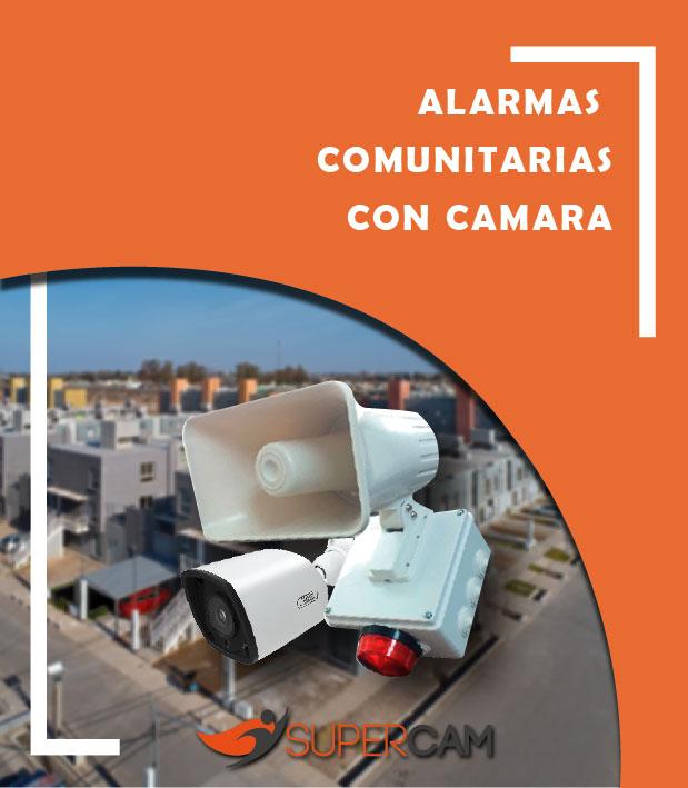 Alarma Comunitaria con Cámaras
